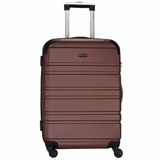 CHECK.IN® Paradise Napoli 4-Rollen Trolley 66 cm