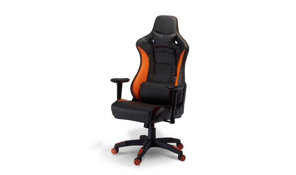 ebuy24 Gaming-Stuhl »Garry Bürostuhl Gamer Stuhl schwarz ...