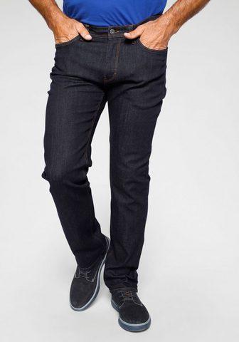 Arizona Stretch-Jeans in trendiger dunkler Was...