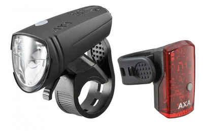 AXA Fahrradbeleuchtung »Axa LED-Akkuscheinw. GreenLine 15 Set inkl. Rückl«