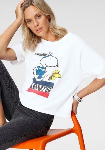 Levi's® Print-Shirt »Graphic Tee« mit Snoopy-Running-Motiv