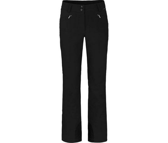 Bergson Skihose »SAIMAA« Damen Softshell Skihose, winddicht, elastisch, Kurzgrößen, schwarz