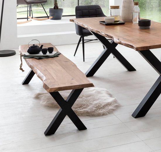 Premium collection by Home affaire Sitzbank »Manhattan«, mit Baumkante