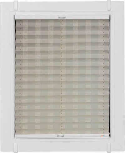 Plissee nach Maß »Classic Style Silky Stripes«, sunlines, Lichtschutz, ohne Bohren, verspannt, verspannt mit Simply-Fix Klemmträger