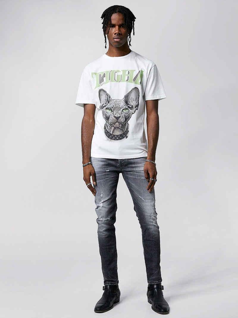 Tigha T-Shirt »Kitty Lessio« (1-tlg)