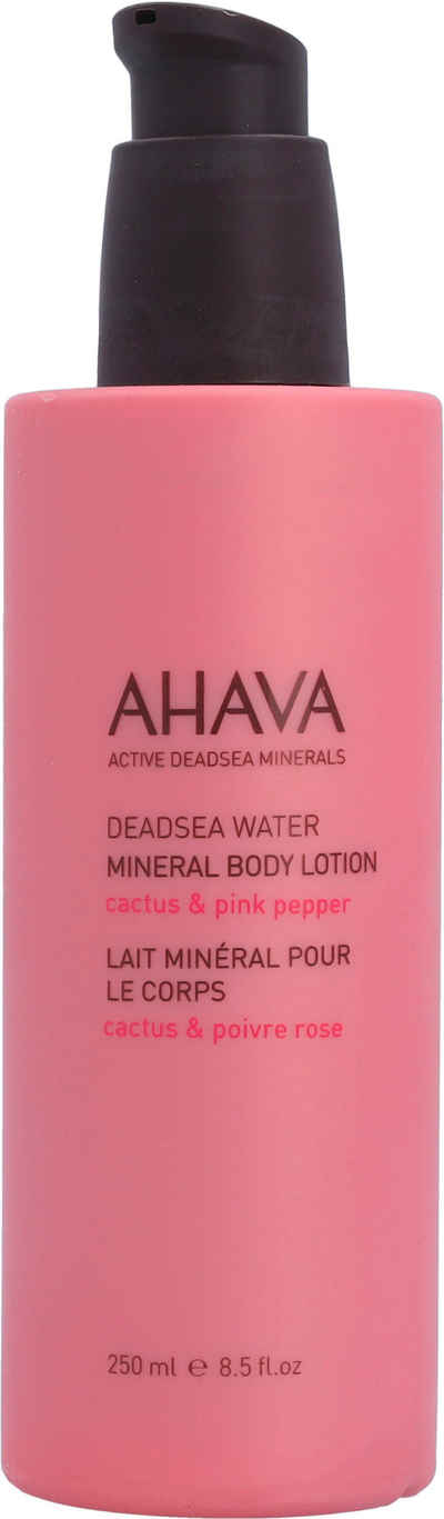AHAVA Körperlotion »Deadsea Water Mineral Body Lotion Cactus Pink Pepper«