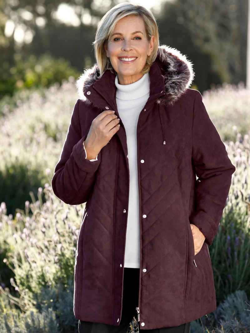 m. collection Steppjacke in Micromoos-Qualität