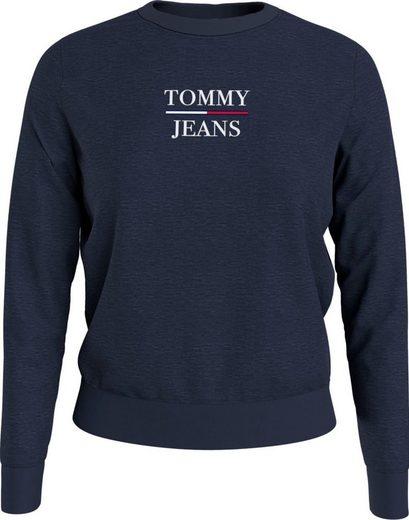 Tommy Jeans Sweatshirt »TJW Slim Terry Logo Sweatshirt« mit Tommy Jeans Logo-Print & Flag