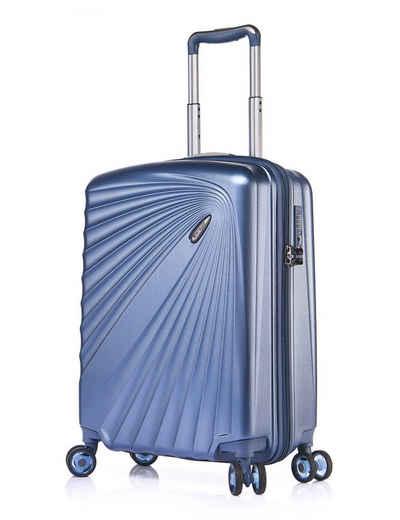 Verage Handgepäckkoffer »Kinetic«, 4 Rollen, Volumenerweiterung, 4-Doppelrollen, TSA-Zahlenschloss