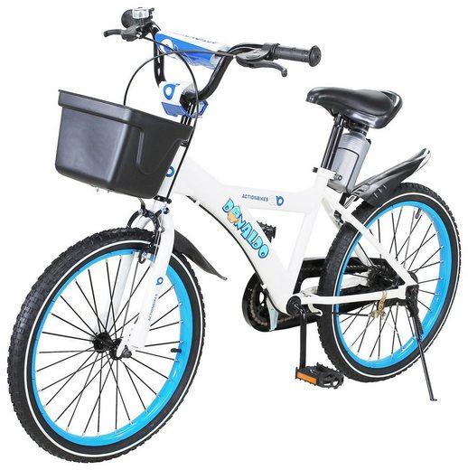Actionbikes Motors Kinderfahrrad »Donaldo«, 1 Gang, 12 - 16 - 20 Zoll - Ab 4-9 Jahren - Jungen & Mädchen - Kinder Fahrrad - Laufrad - BMX - Kinderrad