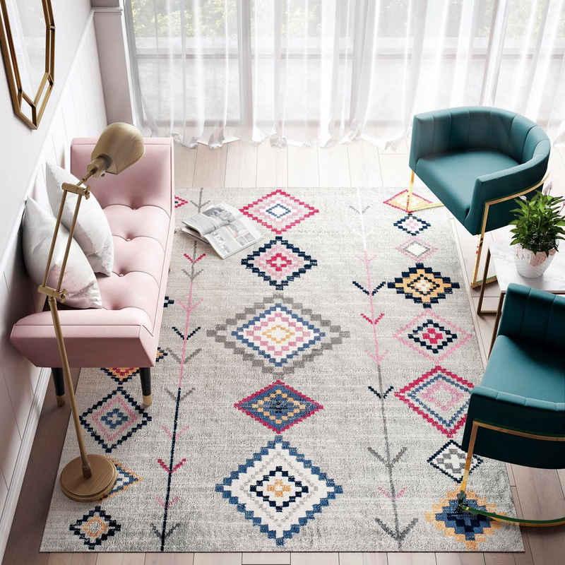 Teppich »Bodrum Native«, CosmoLiving by Cosmopolitan, rechteckig, Höhe 8 mm, Wohnzimmer