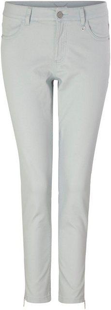 Hosen - Comma 7 8 Jeans mit Reißverschluß an den Beinabschlüssen ›  - Onlineshop OTTO