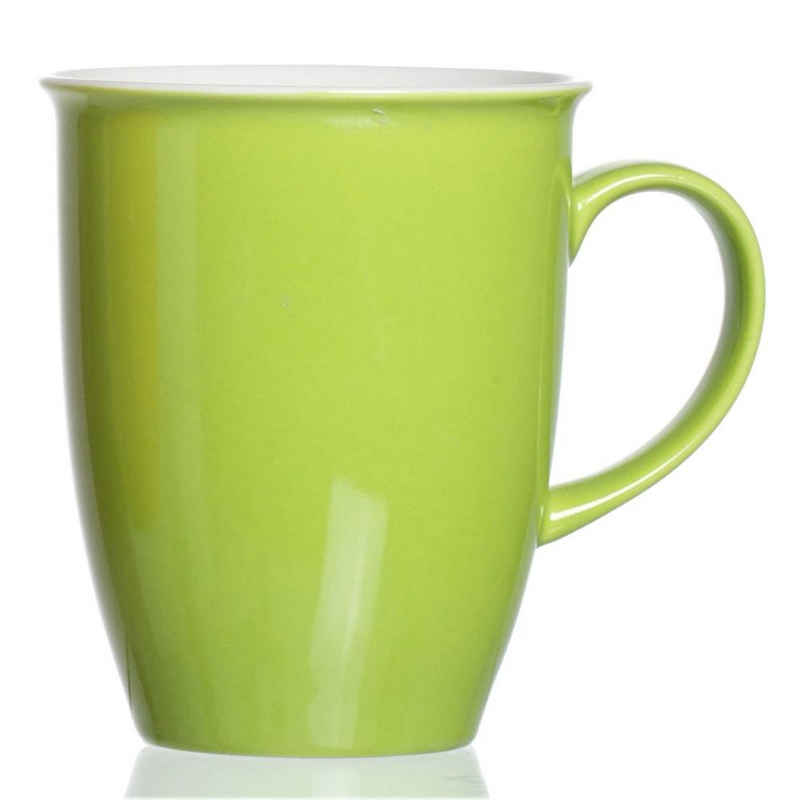 Ritzenhoff & Breker Becher »Doppio Grün 320 ml«, Porzellan