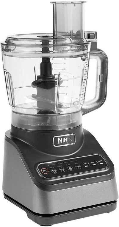 NINJA Küchenmaschine Kompaktmaschine mit Auto-iQ BN650EU, 850 W, 2,1 l Schüssel, incl. 2,1 L Schüssel & diverser Einsätze