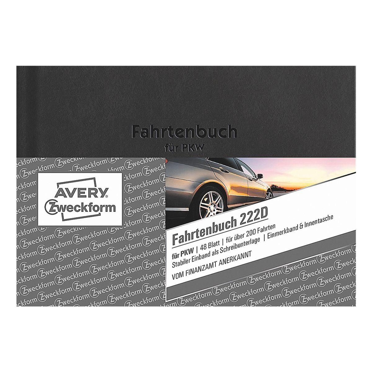 Avery Zweckform Formularbuch »Fahrtenbuch«, 1-fach