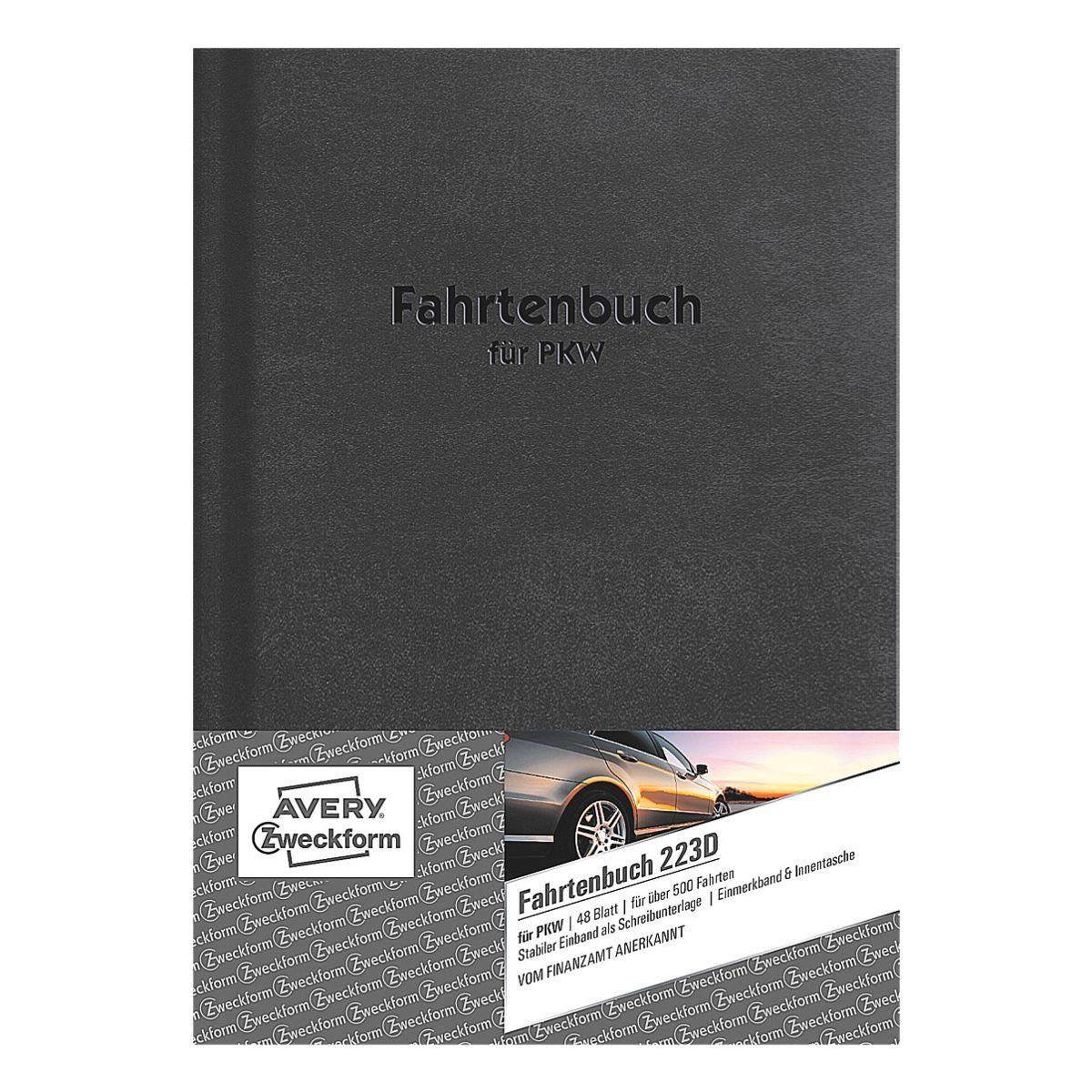 ZWECKFORMAVERY Fahrtenbuch (A5 hoch) »223D«