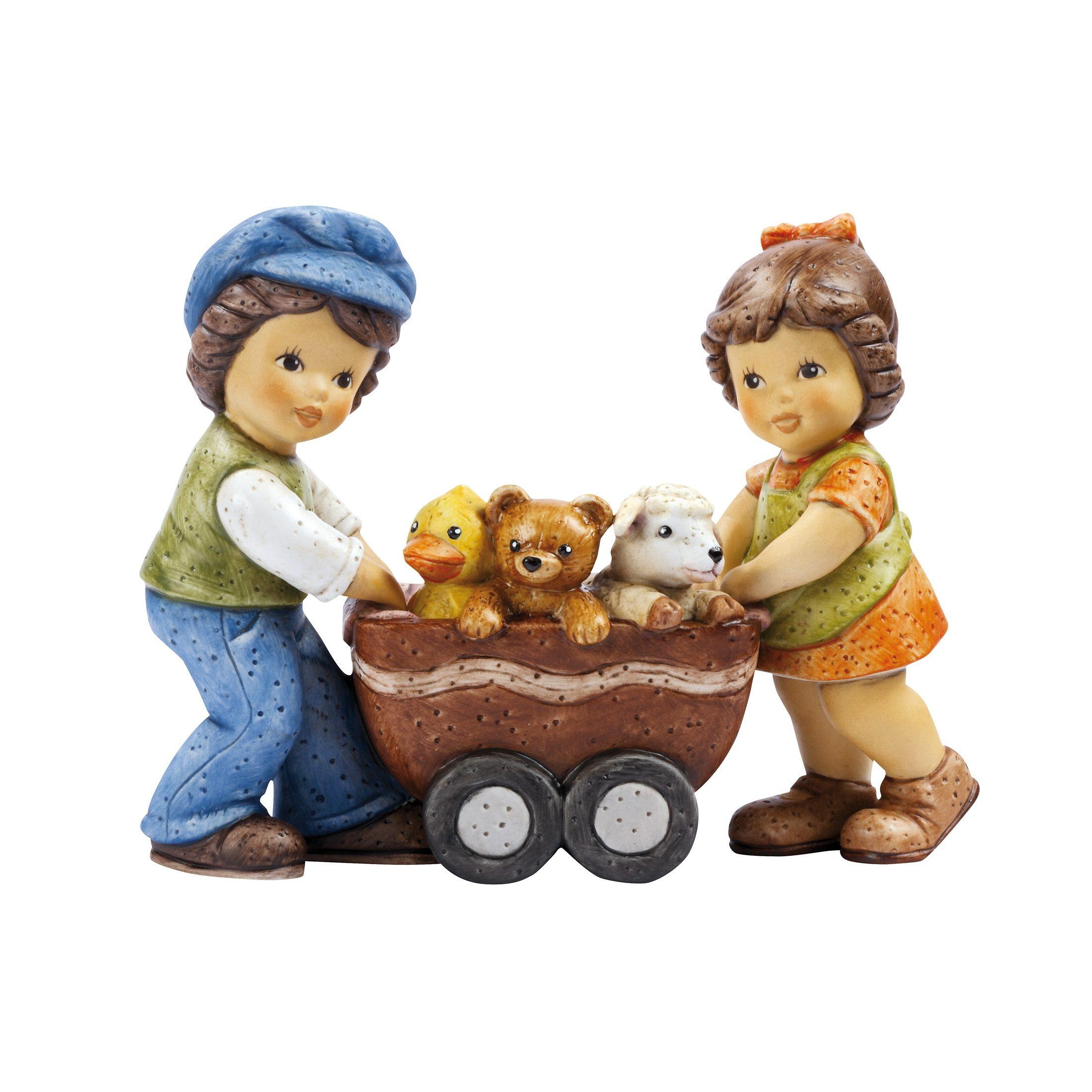 Goebel Ein Wagen voller Kuschelfreunde »Nina und Marco«