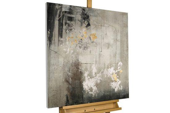 KUNSTLOFT Gemälde »She Turns to Leave«, handgemaltes Bild auf Leinwand