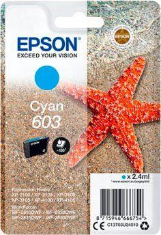 Epson »Singlepack Cyan 603« Tintenpatrone (1-tlg)