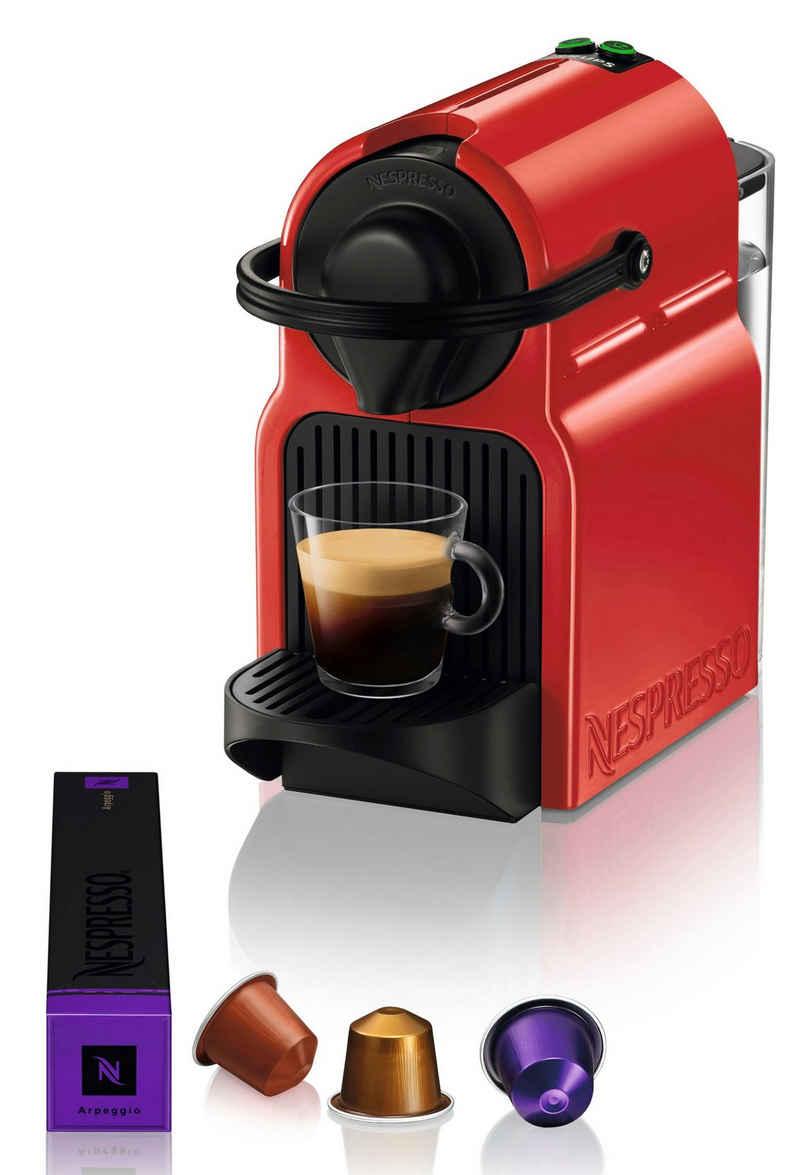 Nespresso Kapselmaschine NESPRESSO Inissia XN1005, Automatische Abschaltung, 19 bar