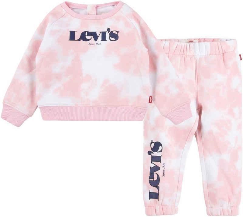 Levi's Kidswear Neugeborenen-Geschenkset (Set, 2-tlg) in Batikoptik