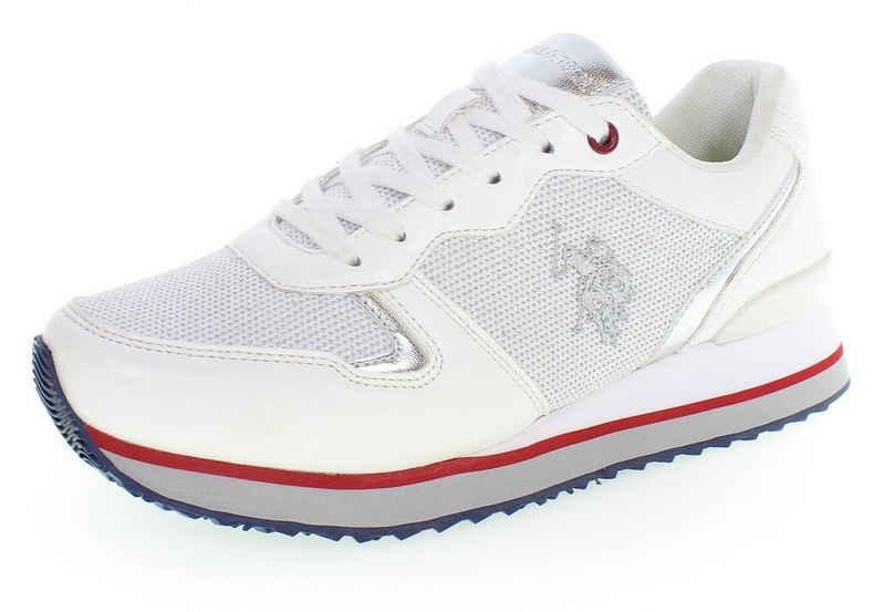 U.S. Polo Assn »TUZLA4« Sneaker mit schönen Metallic-Details