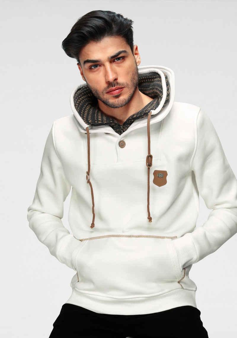 Cipo & Baxx Sweatshirt mit Schalkragen