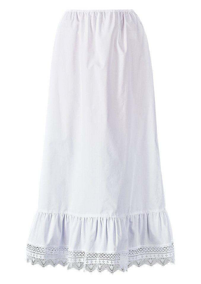 Unterrock Länge ca. 95 cm, Hannah in weiß