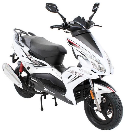 Actionbikes Motors Motorroller »Scooter«, 50 ccm, 45 km/h, Euro 4