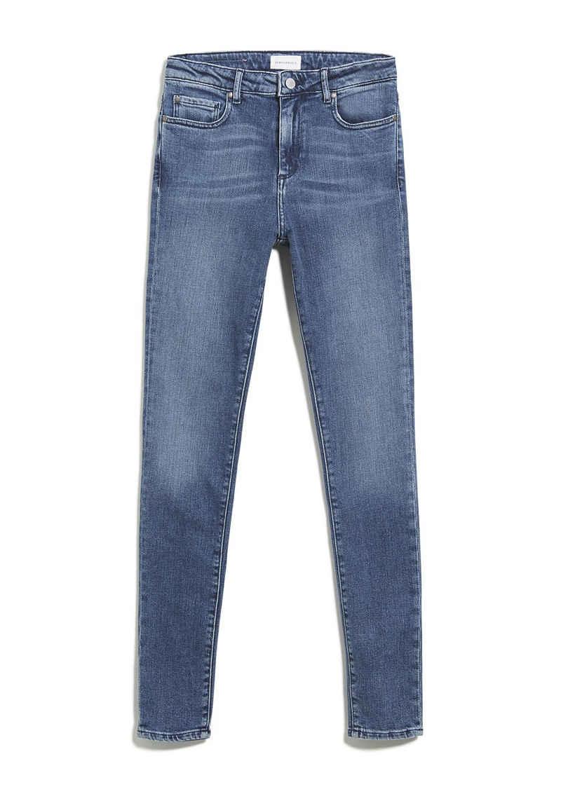 Armedangels Slim-fit-Jeans »TILLAA Damen Skinny Fit Mid Waist Skinny Fit« (1-tlg)