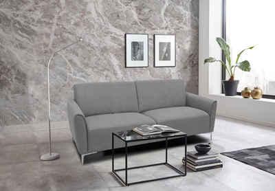 Places of Style 2-Sitzer »Akron«, modernes Design in zwei Bezugsqualitäten
