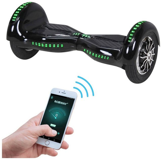 ROBWAY Hoverboard »W3«, 10 Zoll mit APP-Funktion*