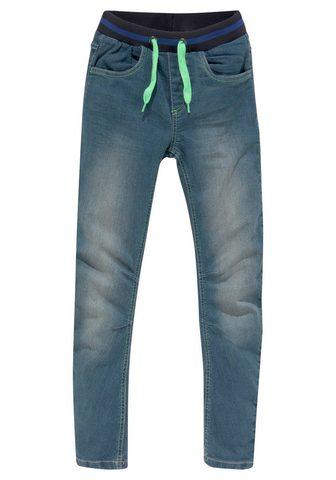 Bench. Laisvo stiliaus džinsai su siauras Bei...