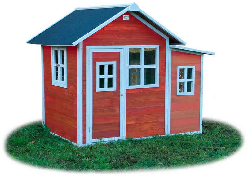 EXIT Spielhaus EXIT Loft 150 rotbraun, BxTxH: 149x191x160 cm