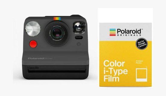 Polaroid Kamerazubehör-Set »Now schwarz + Color-Film«