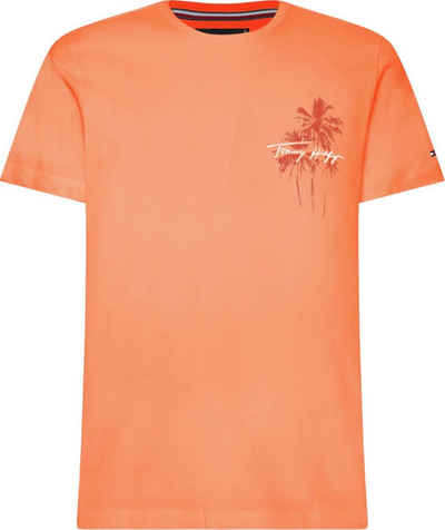 Tommy Hilfiger T-Shirt »PALM BOX PRINT TEE«