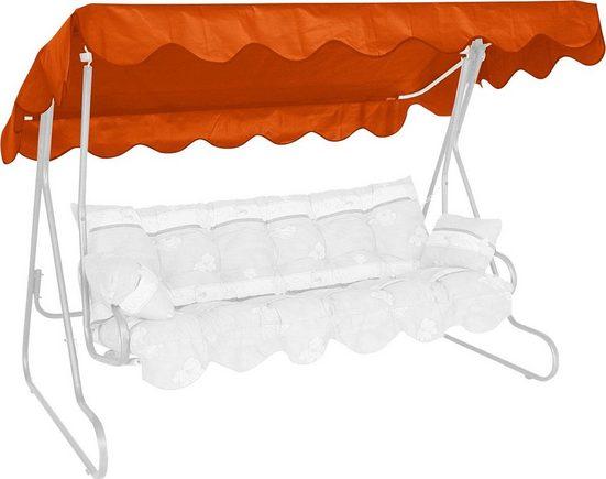 Angerer Freizeitmöbel Hollywoodschaukelersatzdach, (B/T): ca. 210x145 cm