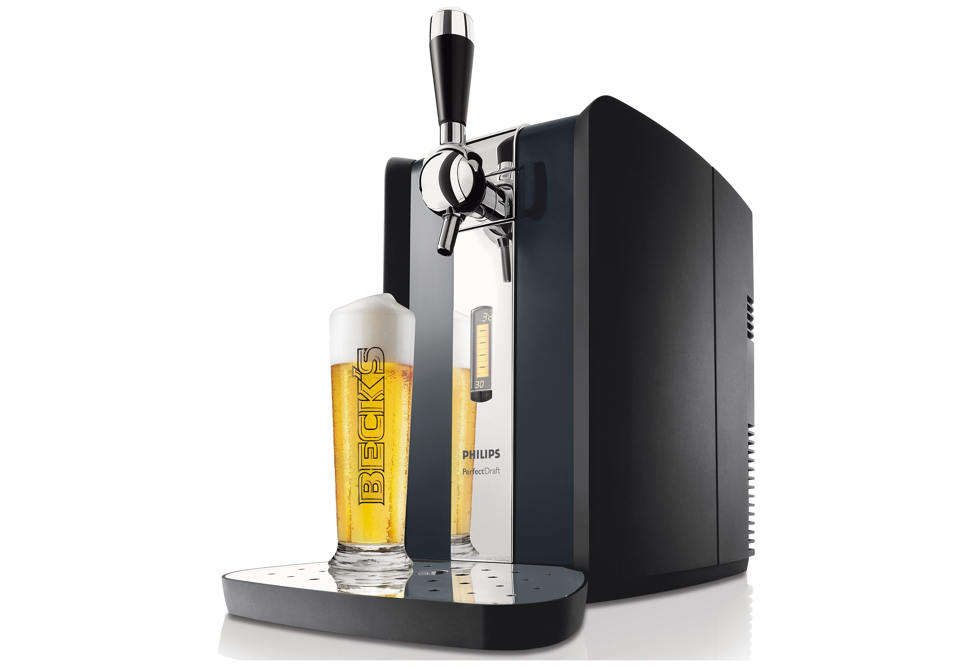 Philips Bierzapfanlage Perfect Draft HD3620, 30 Tage lang frisches Bier