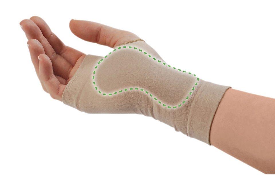 Karpaltunnel-Bandage in rechte Hand