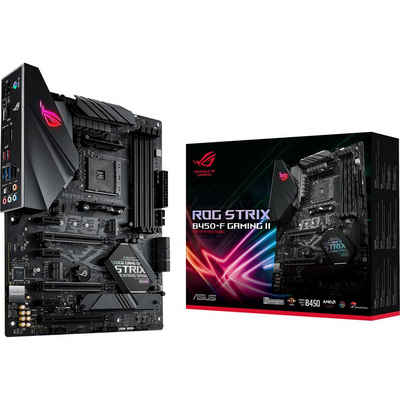 Asus »ROG STRIX B450-F GAMING II« Mainboard AURA Sync