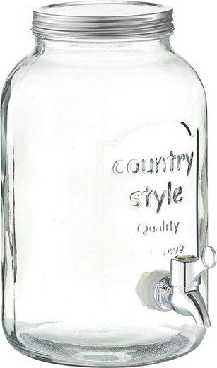 Zeller Present Getränkespender Country-Style