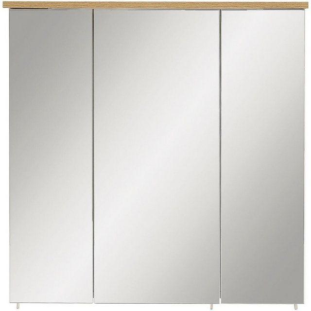 Spiegel - MÖBELPARTNER Badezimmerspiegelschrank »Padua Bad« mit LED Beleuchtung und Schalter Steckdosenkombination  - Onlineshop OTTO