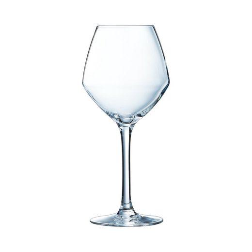 Chef & Sommelier Weißweinglas »Cabernet Vins Jeunes«, Weinglas 350ml Krysta Kristallglas transparent 6 Stück