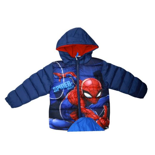 MARVEL Winterjacke »Spiderman Kinderjacke« Gr. 98 bis 128, in 2 Farben erhältlich
