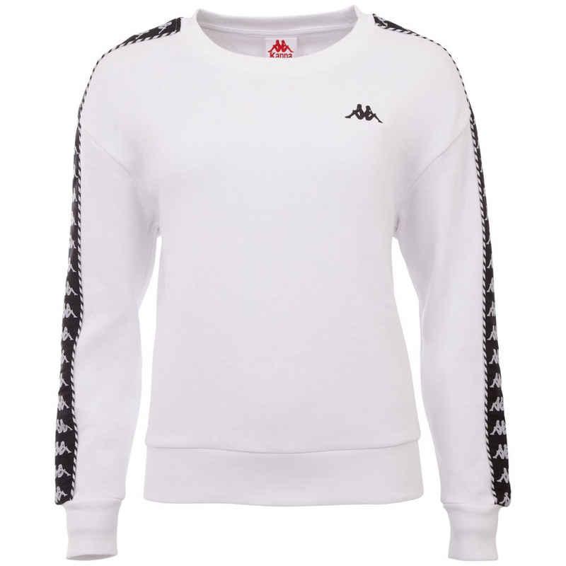 Kappa Sweatshirt »ILARY« in lässigem Comfort Fit