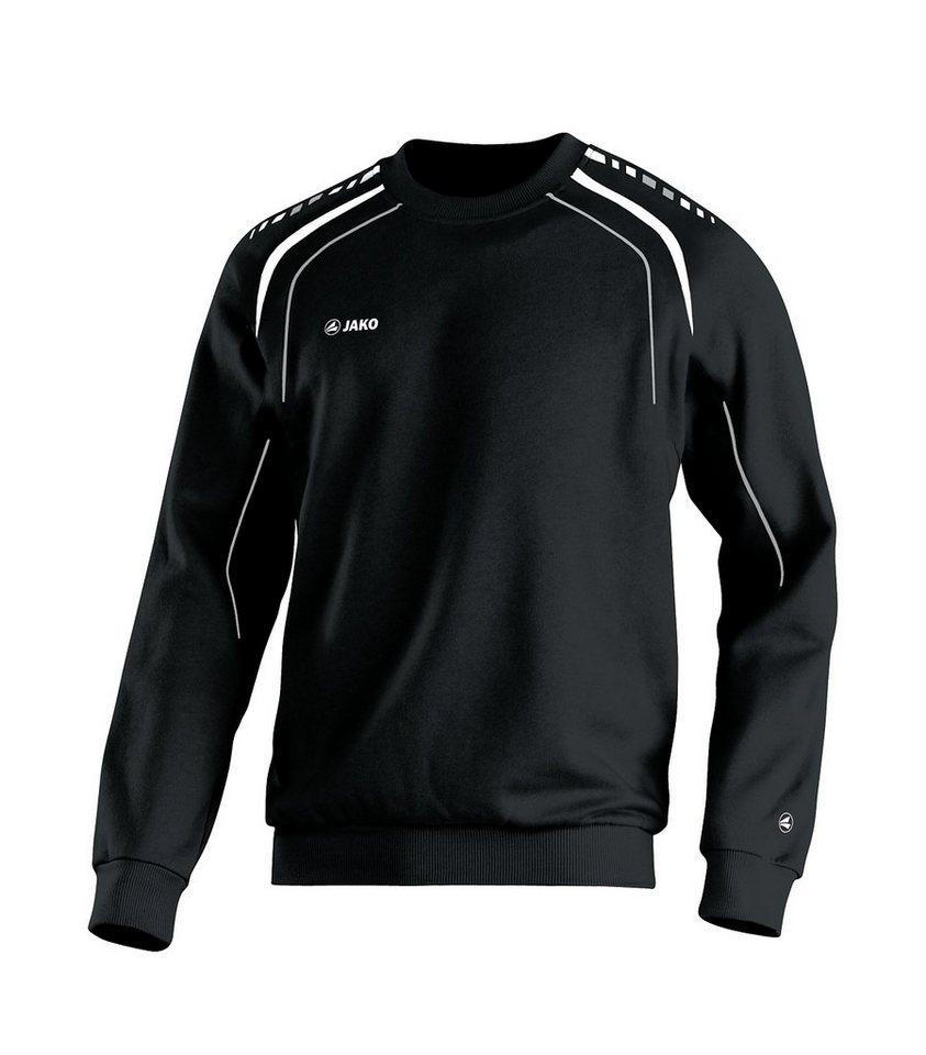 JAKO Sweat Champion Herren in schwarz/weiß/grau