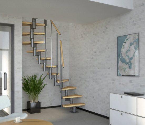 Dolle Systemtreppe »Dublin«, für Geschosshöhen bis 270 cm