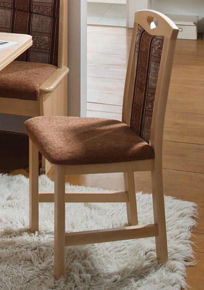SCHÖSSWENDER Stuhl »Luzern«, 2er-Pack in braun