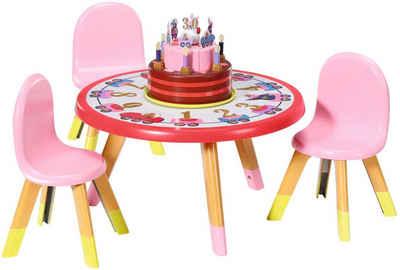 Baby Born Puppentisch »Happy Birthday Partytisch«, mit Licht- und Soundeffekten