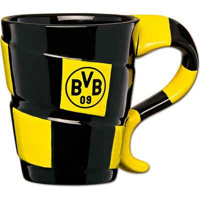Borussia Dortmund Tasse »BVB-Tasse mit Schal-Design«